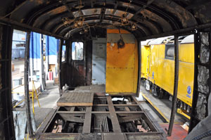 Work on stripping out the inside of the 4-CEP 61229 is progressing well