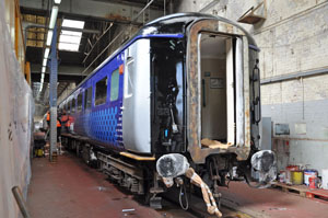 5945 becomes the second ScotRail liveried Mk2