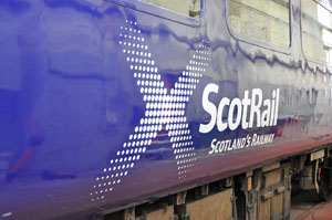 The first of DRS's ScotRail liveried Mk2s is 5965